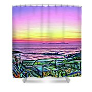 Larcomar Shower Curtain