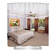 Large Bedroom Shower Curtain