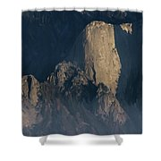 Large Granite Mountains In California Shower Curtain