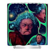 Large Marge Shower Curtain