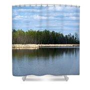 Large Pond Shower Curtain