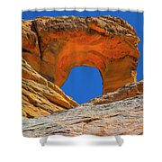 Large Sandstone Arch Valley Of Fire Shower Curtain