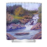 Larsen Falls Shower Curtain