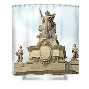 L'art At Grand Palais Shower Curtain