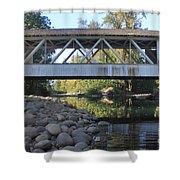 Larwood Bridge Shower Curtain
