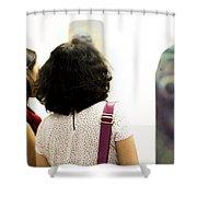 Las Chaquetitas De Papa Shower Curtain