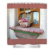 Las Flores Shower Curtain