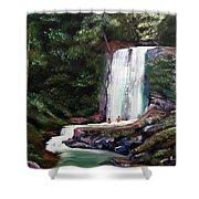 Las Marias Puerto Rico Waterfall Shower Curtain