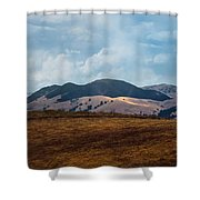 Las Trampas Hills Shower Curtain