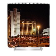 Las Vegas 1980 #11 Shower Curtain