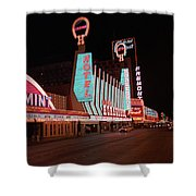 Las Vegas 1983 #4 Shower Curtain