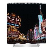 Las Vegas 1983 #6 Shower Curtain