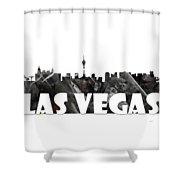 Las Vegas Shower Curtain