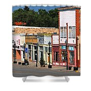 Las Vegas New Mexico Shower Curtain
