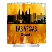Las Vegas Nv 3 Vertical Shower Curtain