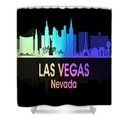 Las Vegas Nv 5 Vertical Shower Curtain