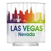 Las Vegas Nv  Shower Curtain