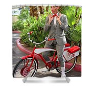 Las Vegas Pee Wee Shower Curtain