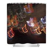Las Vegas Strip 2222 Shower Curtain