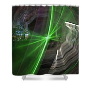 Las Vegas Strip 2269 Shower Curtain