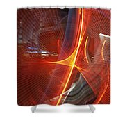 Las Vegas Strip 2272 Shower Curtain