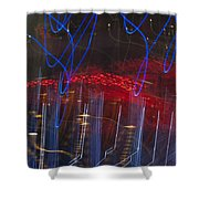 Las Vegas Strip 2302 Shower Curtain