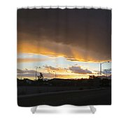 Las  Vegas  Sunset  2 Shower Curtain