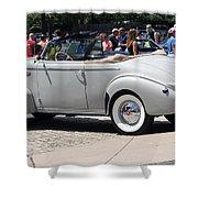 Lasalle 1940 2 Shower Curtain