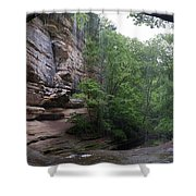 Lasalle Canyon Starved Rock State Park Shower Curtain
