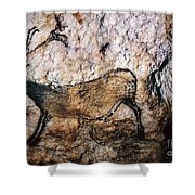 Lascaux: Running Deer Shower Curtain