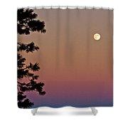 Lassen Sunset Shower Curtain