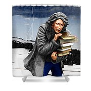Last Books Of Knowledge Shower Curtain