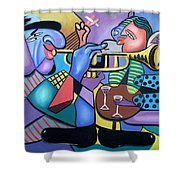 Last Call Shower Curtain