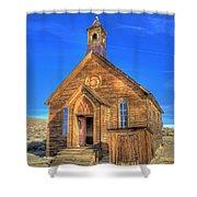 Last Church Standing Shower Curtain