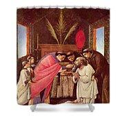 Last Communion Of St Jerome Shower Curtain
