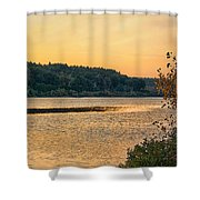 Last Day Of Summer Shower Curtain