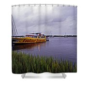 Last Ferry To Lookout Shower Curtain