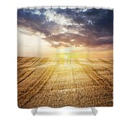 Last Glow Shower Curtain