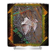 Last Leaf Standing Shower Curtain