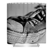 Last Leg Shower Curtain