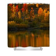 Last Light At Oxbow Bend  Shower Curtain