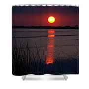 Last Minutes Of The Day Shower Curtain