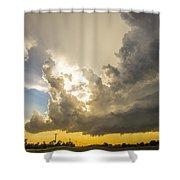 Last Nebraska Supercell Of The Summer 024 Shower Curtain