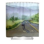 Last Of The Day Temescal Canyon Shower Curtain