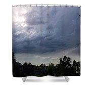 Last Of The Thunder Dome Shower Curtain