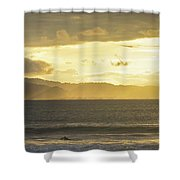 Last Paddle Shower Curtain