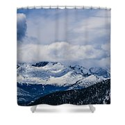 Last Snow Shower Curtain