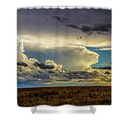Last Storm Chase Of 2017 001 Shower Curtain