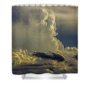 Last Storm Chase Of 2017 002 Shower Curtain
