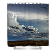 Last Storm Chase Of 2017 004 Shower Curtain